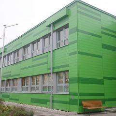 Vorgehängte Fassade