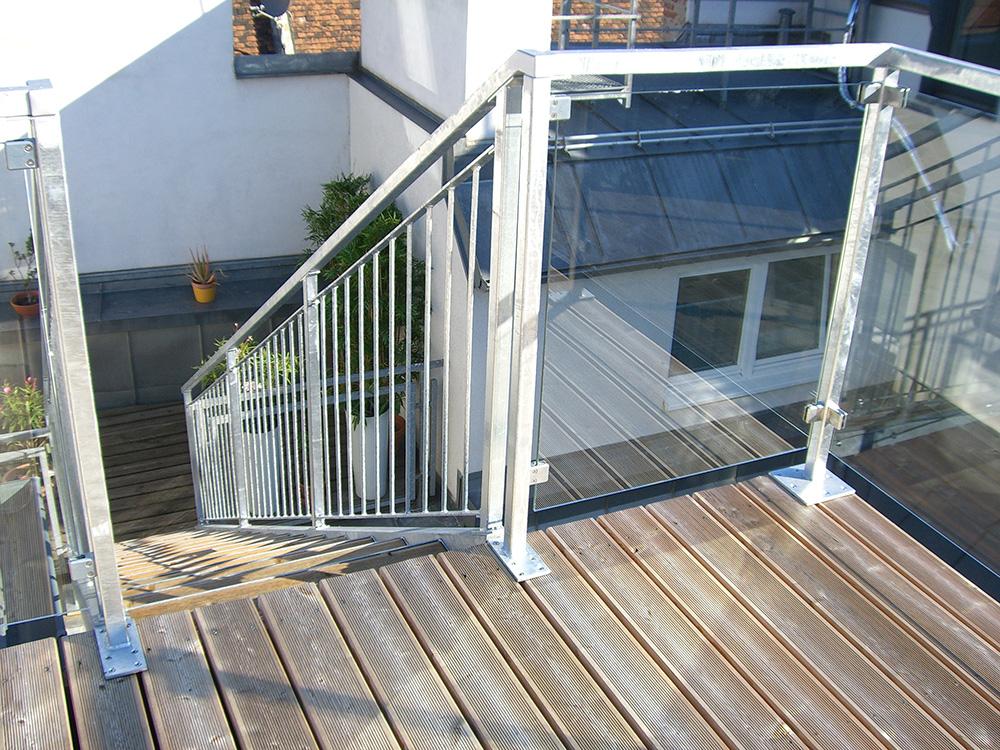 Treppen und Treppengeländer – die Stiege als zentrales Element.